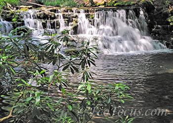 Waterfall at Pocono Manor