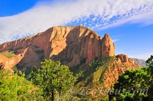 Kolob Canyons mountains